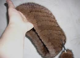 шапка из искусственного меха пошагово