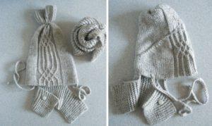 шапка из вязаного свитера
