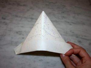 шапочка из бумаги
