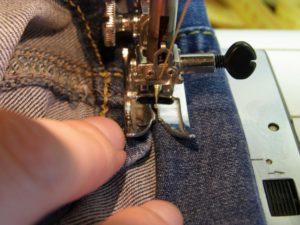 шитье джинсового сарафана