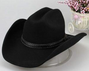 шляпа из фетра по типу ковбойской