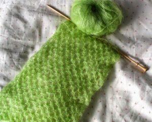 Вязание из мохера
