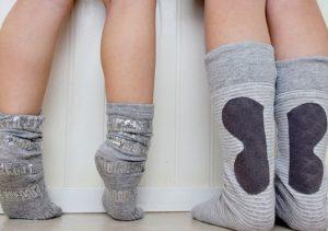 украшенные носки