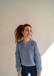 свитер оверсайз для девочки