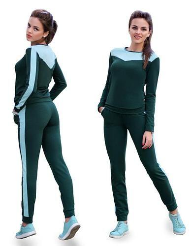 Спортивный костюм из двунитки