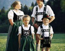 немецкий костюм