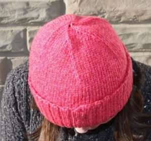 как убавлять петли на шапке