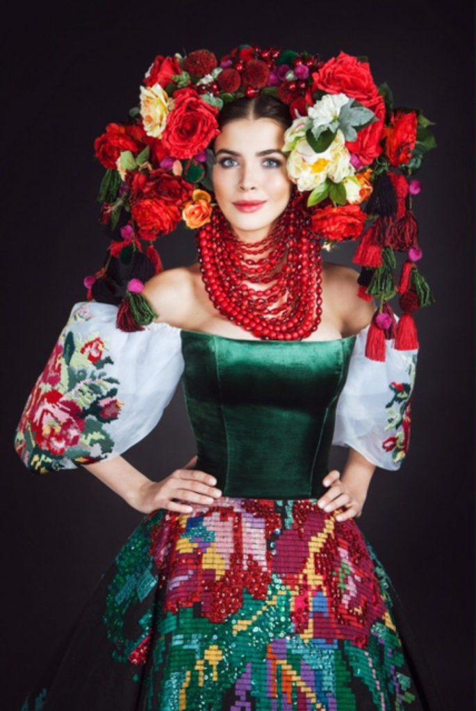 современный украинский костюм