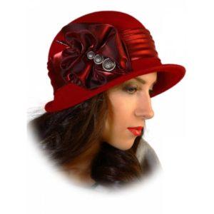 украшение фетровой шляпы