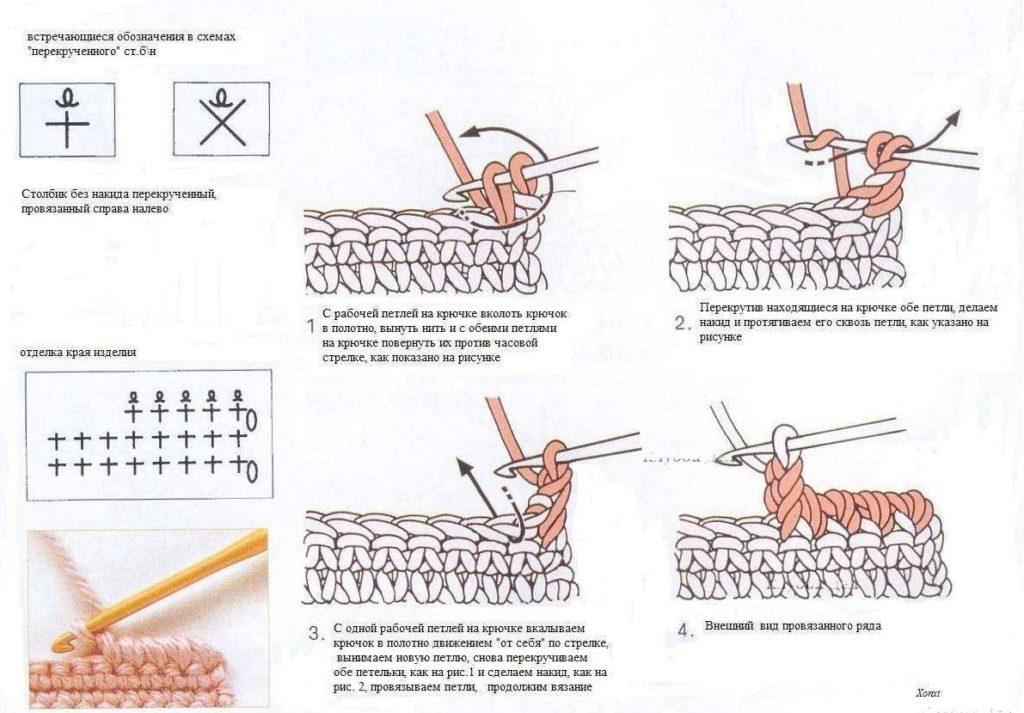 Обозначения в схемах крючком