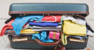 В чемодан не помещаются вещи