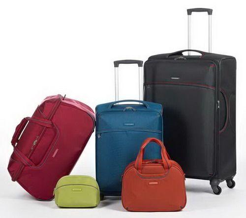 чемоданы из ткани