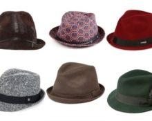 виды шляп мужских