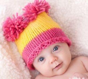 шшапка для новорожденных