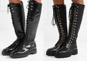 высокие ботинки на шнуровке 2