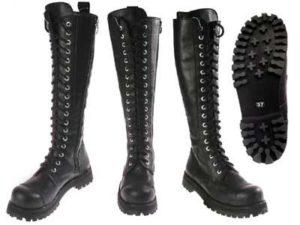модели ботинок на шнуровке