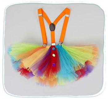 юбка клоунессы