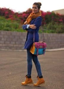 женские ботинки тимберленд