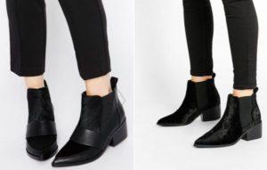 с чем носить ботинки челси женские