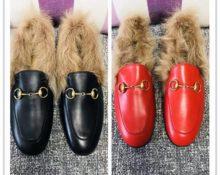 с чем носить меховые туфли