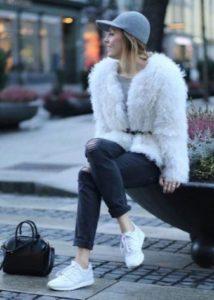 образ с зимними кроссовками