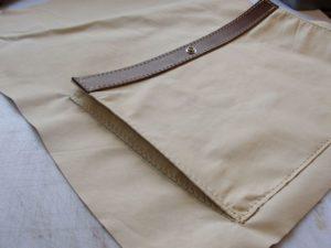 Подшиваем подкладку