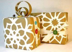 вариант упаковки сумки в подарок