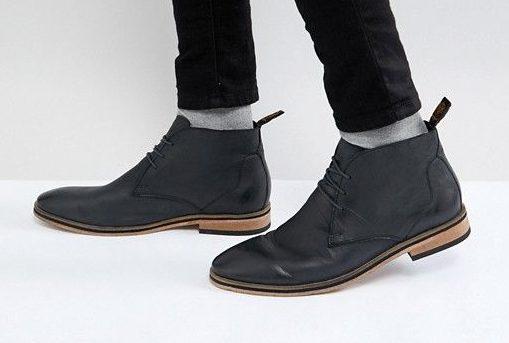 Ботинки черные чукка