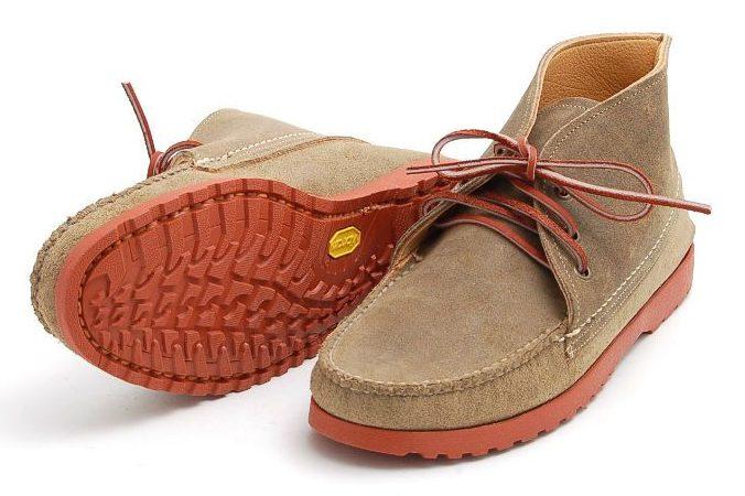 Уникальная подошва ботинок чукка