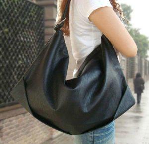 черная сумка хобо