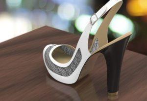 Туфли изменяют цвет