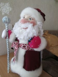 Дед мороз из чулка