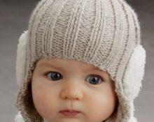 Детская шапка с ушками 3