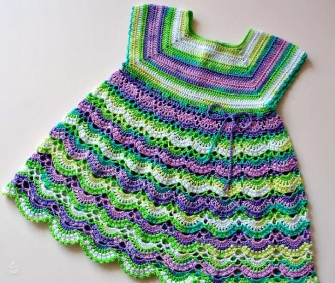 Детское платье модель 2