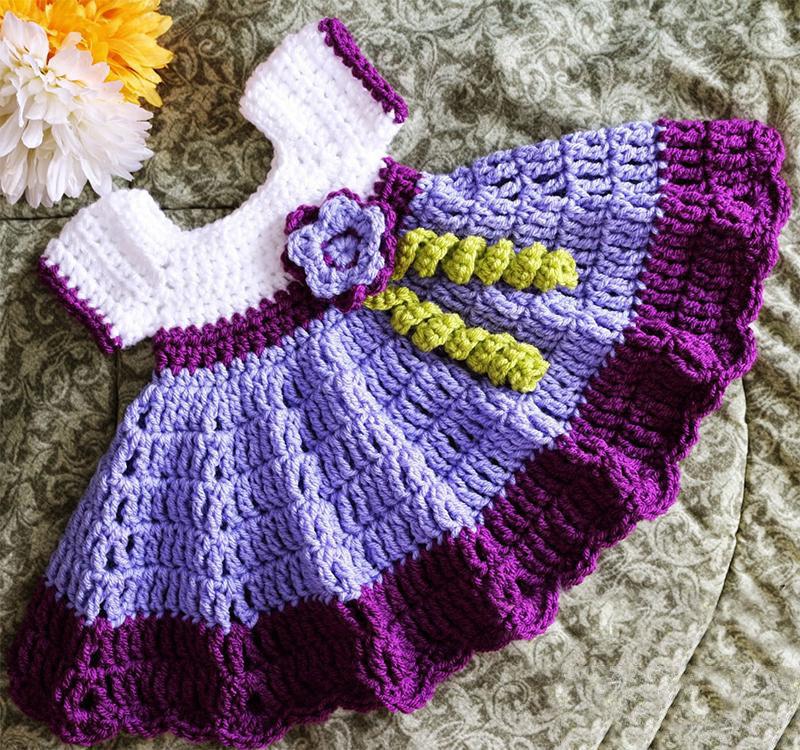 Детское платье модель 3