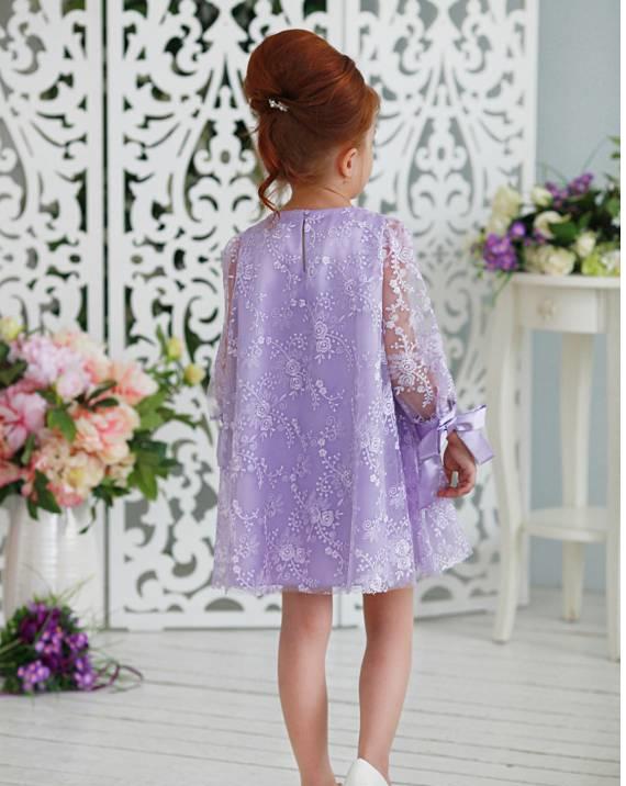 Детское платье трапеция