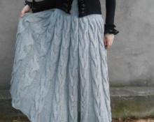 Длинная юбка модель 1