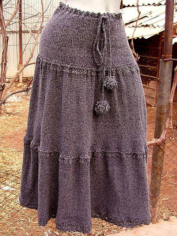 Длинная юбка модель 3