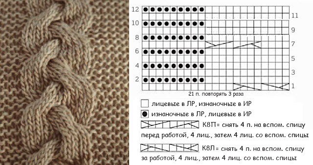 Длинная юбка схема 1