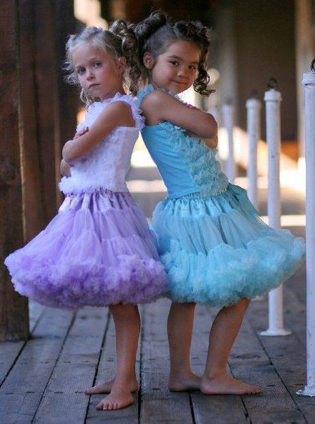 Два платья юбки американка