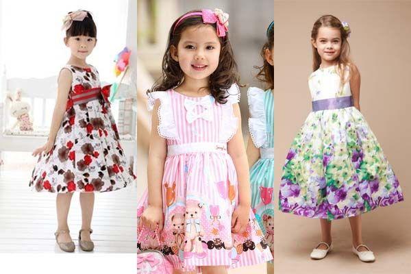 Цветные летние платья