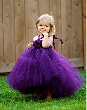 Фиолетовая платье-юбка туту