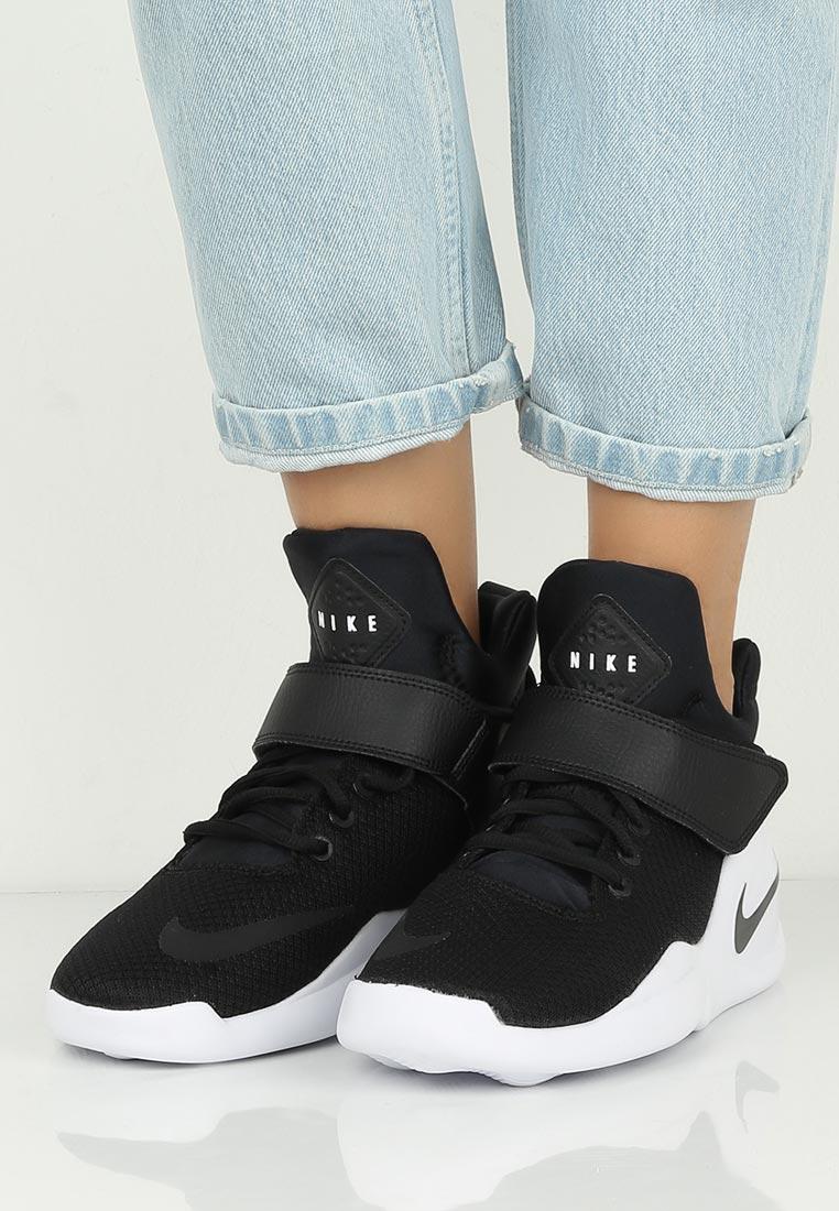 Хайтопы черные кроссовки