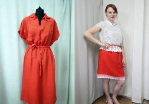 Как из платья сделать юбку