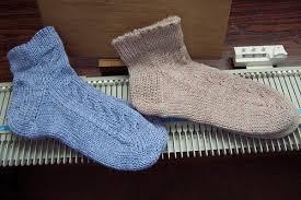 Как сделать носки на однофонтурной вязальной машине