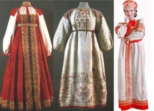 Как украсить русский народный сарафан