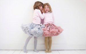 девочки в пышных юбках