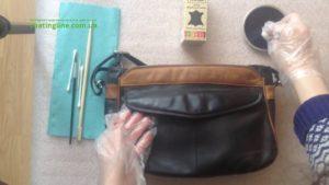 реставрация кожаной сумки