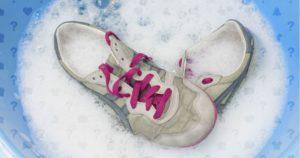 кроссовки в пене