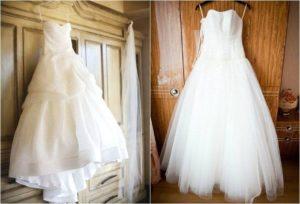 платье до и после стирки
